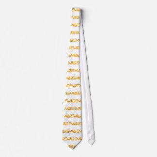 Swag Tag - Orange Tie