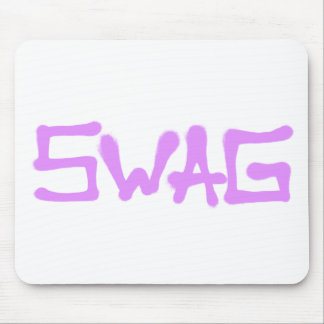 Swag Tag - Pink Mouse Pad