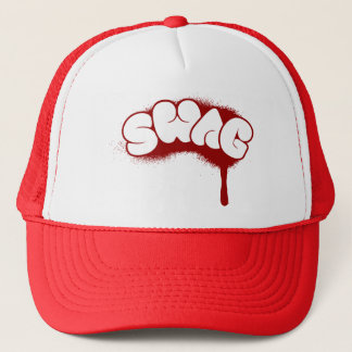 Swag Tag (Red) Trucker Hat