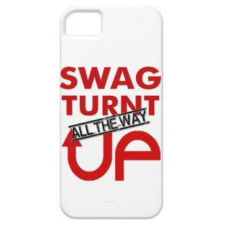 ¡Swag Turnt hasta el final PARA ARRIBA! Funda Para iPhone SE/5/5s