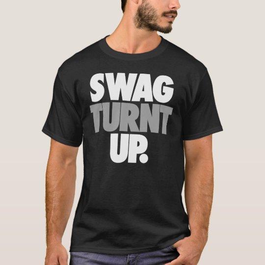 Swag Turnt Up by: Trenz Unltd. Black Tee