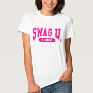SWAG University Alumni Tee w/ Pink logo