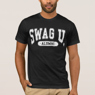 SWAG University Alumni Tee w/ White logo