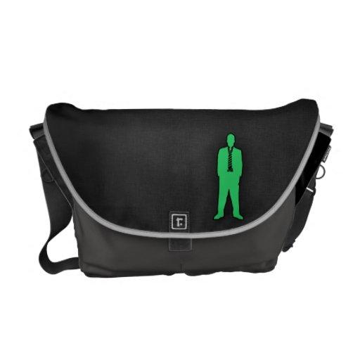 Swag verde de Kelly Bolsa Messenger