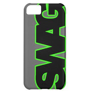 SWAG verde de neón Carcasa iPhone 5C