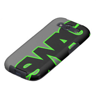 SWAG verde de neón Galaxy SIII Cobertura