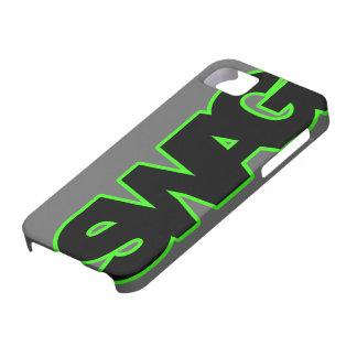 SWAG verde de neón iPhone 5 Case-Mate Protectores