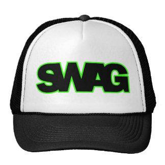 SWAG verde de neón Gorra