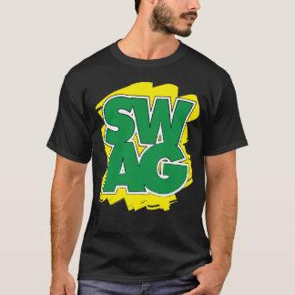 SWAG - verde y amarillo Playera