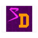 SwagDorm logotipo 6 de julio de 2012 Postal