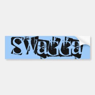 Swagga bumper sticker car bumper sticker