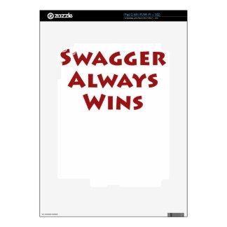 Swagger Always Wins iPad 2 Skin