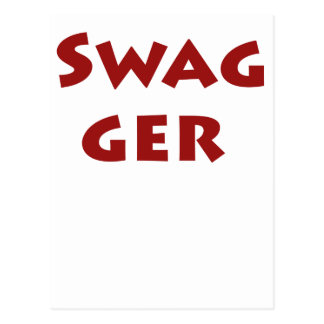 Swagger! Postcard