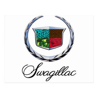 Swagillac - A Swag Parody of Cadillac Postcard