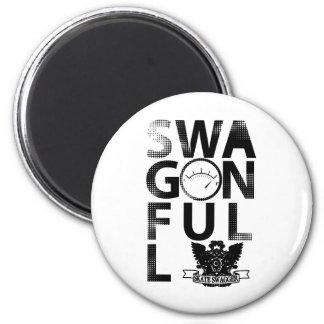 SwagOnFull Fridge Magnet