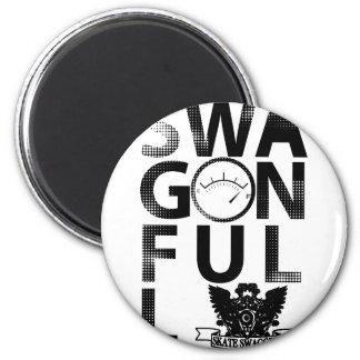 SwagOnFull Refrigerator Magnet