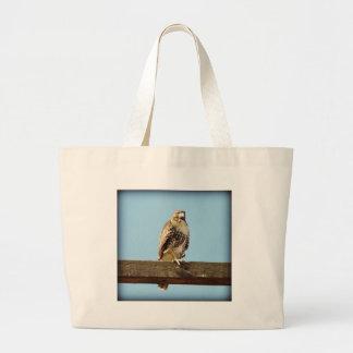Swainson's Hawk Jumbo Tote Bag