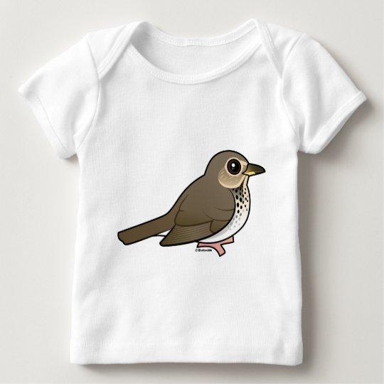 Swainson's Thrush Baby T-Shirt