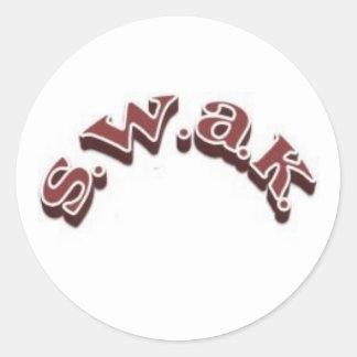 SWAK sticker