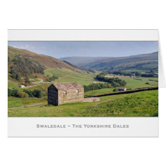 Swaledale Panorama Greeting Cards