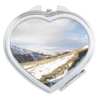 Swaledale Snow Vanity Mirror