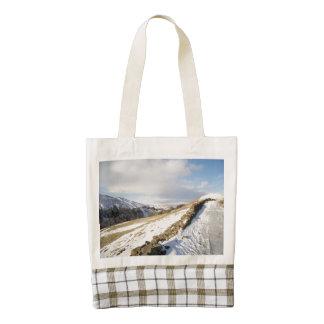 Swaledale Snow Zazzle HEART Tote Bag