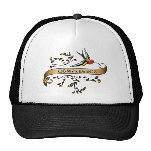 Swallow and Scroll with Compliance Mesh Hats