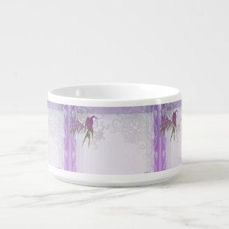 Swallow bamboo purple leaf vine bowl