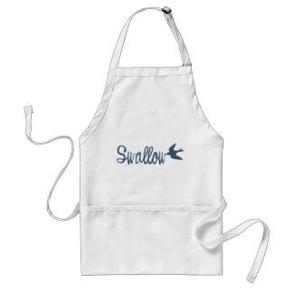 Swallow Bird Apron