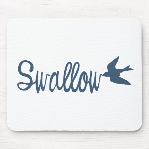 Swallow Bird Mouse Pad