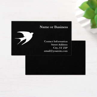Swallow Business Card