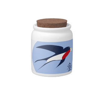 swallow candy jars