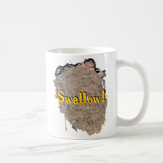 Swallow! Coffee Mug