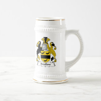 Swallow Family Crest Beer Stein