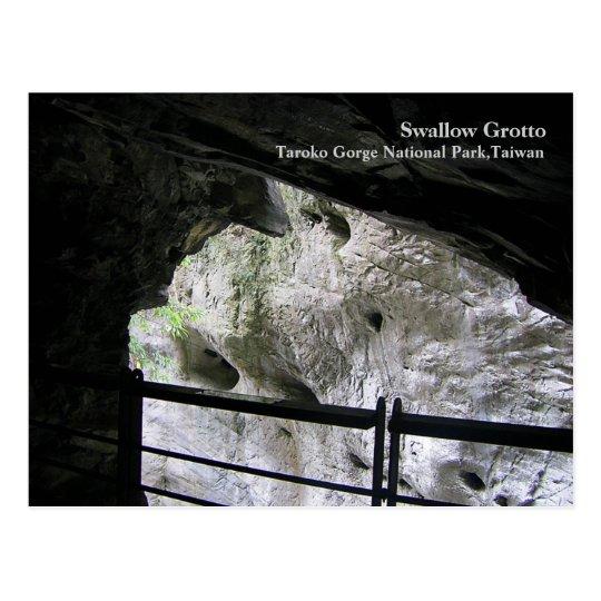 Swallow Grotto Taroko Gorge National Park,Taiwan Postcard