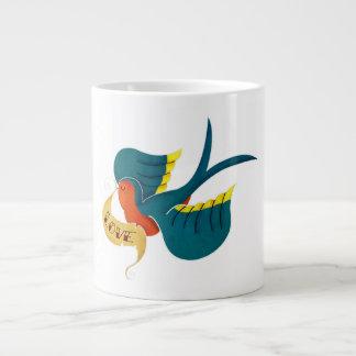 Swallow in Love Giant Coffee Mug
