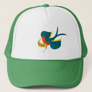 Swallow in Love Trucker Hat