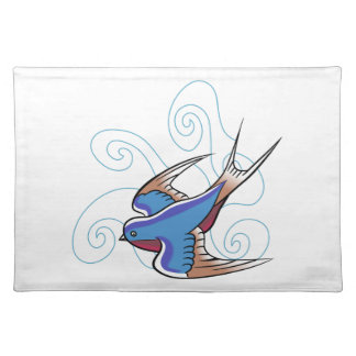 SWALLOW IN SKY CLOTH PLACE MAT