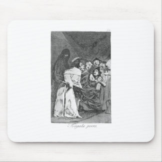 Swallow it, dog by Francisco Goya Mouse Pad