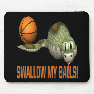 Swallow My Balls Mouse Pad