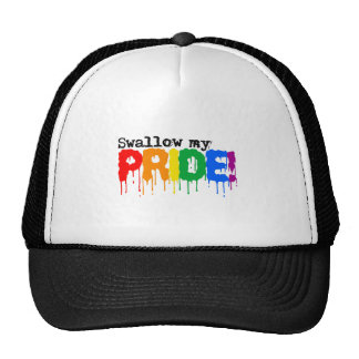 Swallow my pride trucker hat