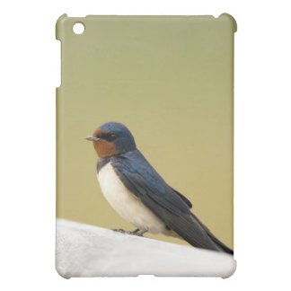Swallow on a Wooden Ledge Cover For The iPad Mini