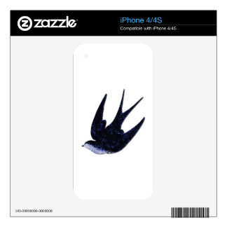 swallow paper cut (free) skin for the iPhone 4