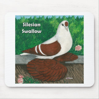 Swallow Pigeon:  Silesian Mouse Pad