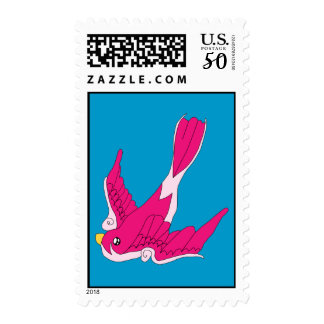 Swallow Postage Stamp