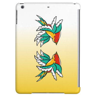 Swallow sailor tattoo inspired design cover for iPad air