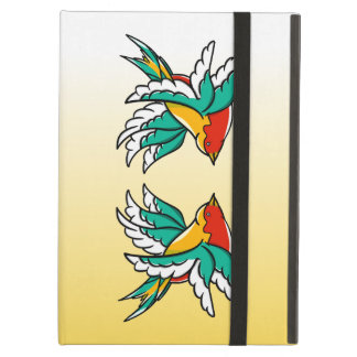 Swallow sailor tattoo inspired design iPad air cover