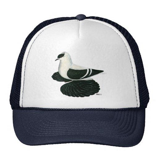 Swallow:  Saxon Black White Bar Trucker Hat