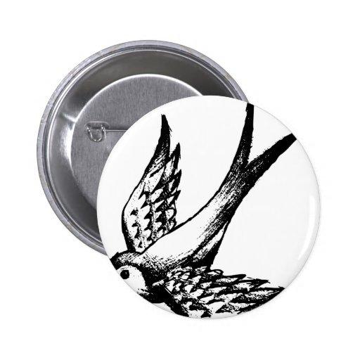 swallow schwalbe bird wings lark summer holiday pin