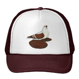 Swallow:  Silesian Red White Bar Trucker Hat